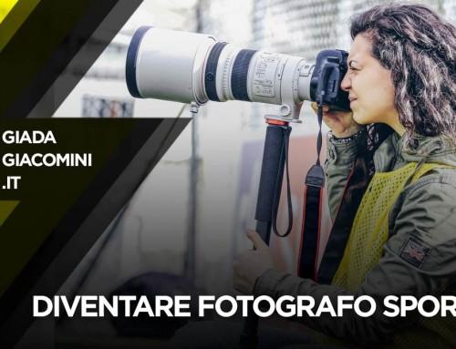 Diventare Fotografo sportivo: tesserino, come iniziare, quanto si guadagna