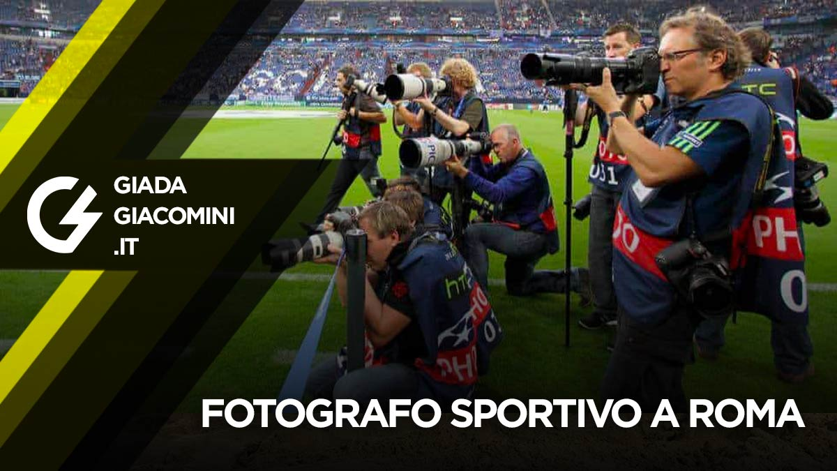 Fotografo sportivo Roma